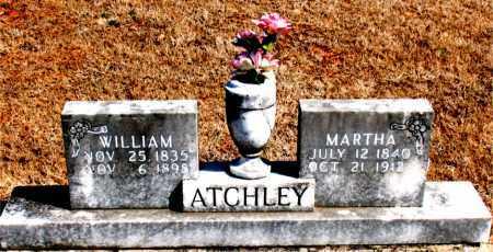 ATCHLEY, MARTHA - Carroll County, Arkansas | MARTHA ATCHLEY - Arkansas Gravestone Photos