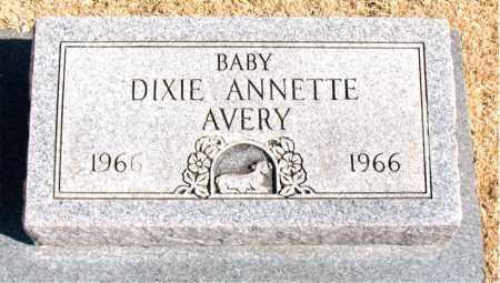 AVERY, DIXIE  ANNETTE - Carroll County, Arkansas   DIXIE  ANNETTE AVERY - Arkansas Gravestone Photos