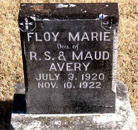 AVERY, FLOY MARIE - Carroll County, Arkansas   FLOY MARIE AVERY - Arkansas Gravestone Photos