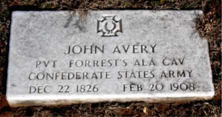 AVERY (VETERAN CSA), JOHN - Carroll County, Arkansas | JOHN AVERY (VETERAN CSA) - Arkansas Gravestone Photos