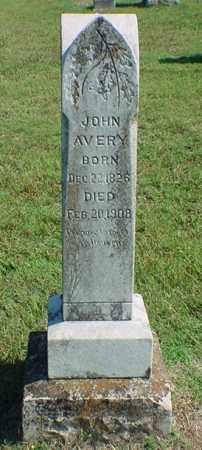 AVERY, JOHN - Carroll County, Arkansas   JOHN AVERY - Arkansas Gravestone Photos
