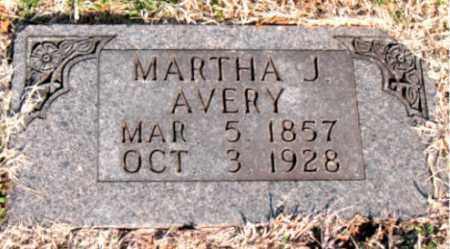 MATTOX AVERY, MARTHA JANE - Carroll County, Arkansas | MARTHA JANE MATTOX AVERY - Arkansas Gravestone Photos