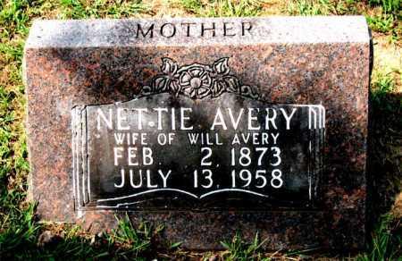 AVERY, NETTIE - Carroll County, Arkansas | NETTIE AVERY - Arkansas Gravestone Photos