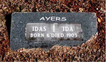 AYERS, IDAS - Carroll County, Arkansas   IDAS AYERS - Arkansas Gravestone Photos