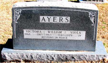 AYERS, VICTORA - Carroll County, Arkansas | VICTORA AYERS - Arkansas Gravestone Photos