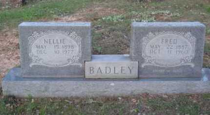 BADLEY, FRED - Carroll County, Arkansas | FRED BADLEY - Arkansas Gravestone Photos