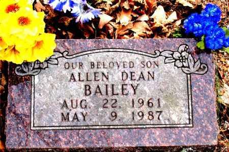 BAILEY, ALLEN DEAN - Carroll County, Arkansas | ALLEN DEAN BAILEY - Arkansas Gravestone Photos
