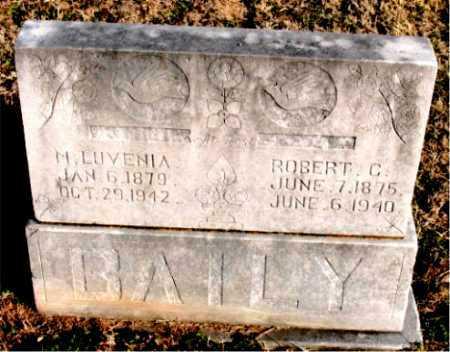 BAILEY, ROBERT C. - Carroll County, Arkansas | ROBERT C. BAILEY - Arkansas Gravestone Photos