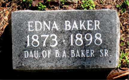 BAKER, EDNA - Carroll County, Arkansas | EDNA BAKER - Arkansas Gravestone Photos