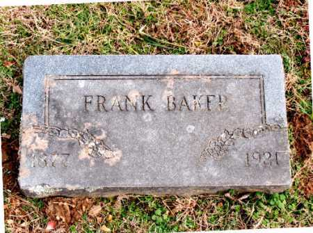 BAKER, FRANK - Carroll County, Arkansas | FRANK BAKER - Arkansas Gravestone Photos