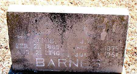 BARNES, ANNIE - Carroll County, Arkansas | ANNIE BARNES - Arkansas Gravestone Photos