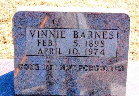 BARNES, VINNIE - Carroll County, Arkansas | VINNIE BARNES - Arkansas Gravestone Photos