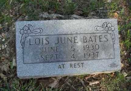 BATES, LOIS JUNE - Carroll County, Arkansas   LOIS JUNE BATES - Arkansas Gravestone Photos