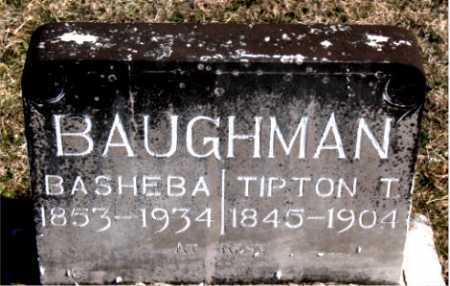 BAUGHMAN, BASHEBA - Carroll County, Arkansas | BASHEBA BAUGHMAN - Arkansas Gravestone Photos