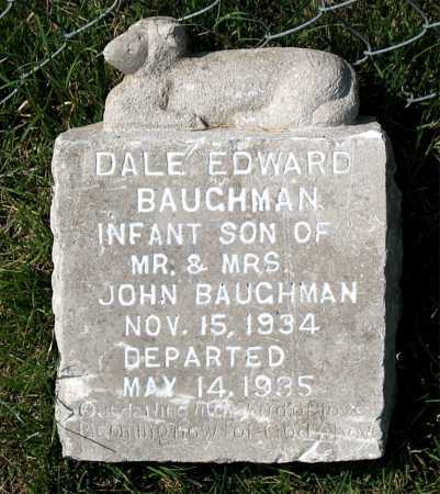 BAUGHMAN, DALE EDWARD - Carroll County, Arkansas | DALE EDWARD BAUGHMAN - Arkansas Gravestone Photos