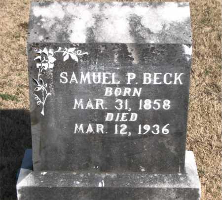BECK, SAMUEL P - Carroll County, Arkansas | SAMUEL P BECK - Arkansas Gravestone Photos