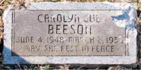 BEESON, CAROLYN SUE - Carroll County, Arkansas | CAROLYN SUE BEESON - Arkansas Gravestone Photos