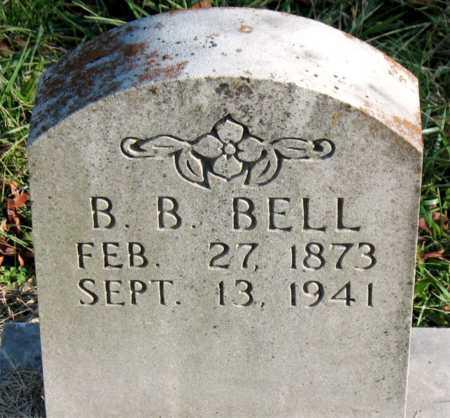 BELL, B.  B. - Carroll County, Arkansas   B.  B. BELL - Arkansas Gravestone Photos