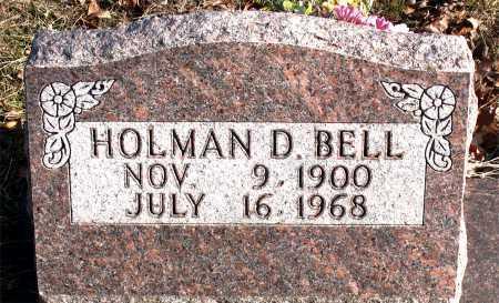 BELL, HOLMAN D. - Carroll County, Arkansas | HOLMAN D. BELL - Arkansas Gravestone Photos