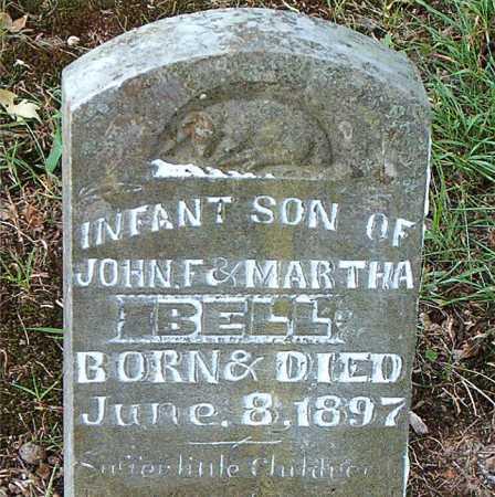 BELL, INFANT  SON - Carroll County, Arkansas   INFANT  SON BELL - Arkansas Gravestone Photos