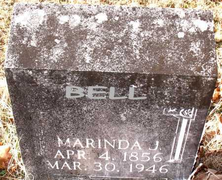 BELL, MARINDA J. - Carroll County, Arkansas   MARINDA J. BELL - Arkansas Gravestone Photos