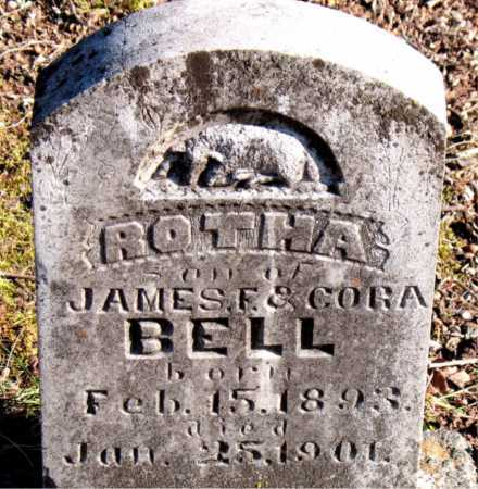 BELL, ROTHA - Carroll County, Arkansas | ROTHA BELL - Arkansas Gravestone Photos