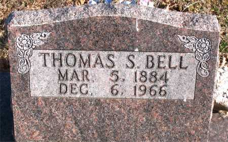 BELL, THOMAS S. - Carroll County, Arkansas | THOMAS S. BELL - Arkansas Gravestone Photos
