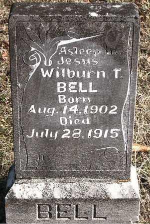 BELL, WILBURN T. - Carroll County, Arkansas   WILBURN T. BELL - Arkansas Gravestone Photos