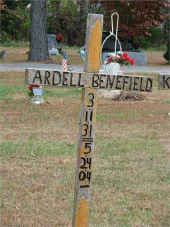 BENEFIELD, ARDELL - Carroll County, Arkansas | ARDELL BENEFIELD - Arkansas Gravestone Photos