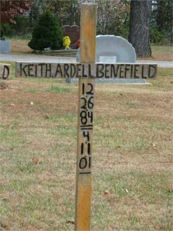 BENEFIELD, KEITH ARDELL - Carroll County, Arkansas | KEITH ARDELL BENEFIELD - Arkansas Gravestone Photos