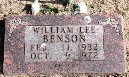 BENSON, WILLIAM LEE - Carroll County, Arkansas | WILLIAM LEE BENSON - Arkansas Gravestone Photos