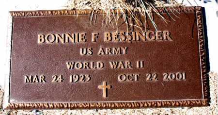 BESSINGER  (VETERAN WWII), BONNIE F. - Carroll County, Arkansas | BONNIE F. BESSINGER  (VETERAN WWII) - Arkansas Gravestone Photos