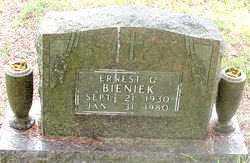 BIENICK, ERNEST C. - Carroll County, Arkansas | ERNEST C. BIENICK - Arkansas Gravestone Photos