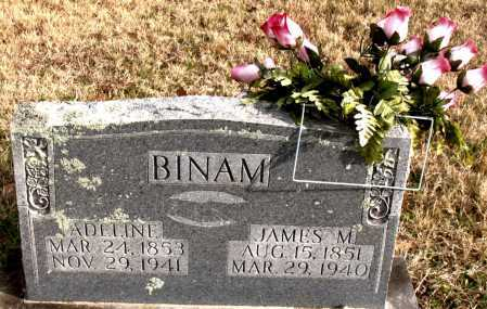 BINAM, JAMES  M. - Carroll County, Arkansas | JAMES  M. BINAM - Arkansas Gravestone Photos