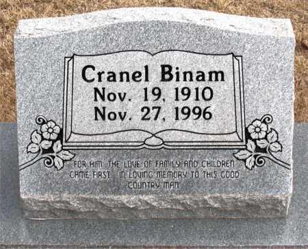 BINAM, CRANEL - Carroll County, Arkansas   CRANEL BINAM - Arkansas Gravestone Photos