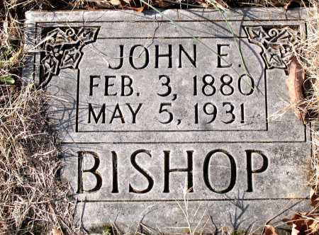 BISHOP, JOHN E. - Carroll County, Arkansas | JOHN E. BISHOP - Arkansas Gravestone Photos