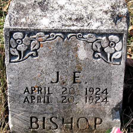 BISHOP, J. E. - Carroll County, Arkansas   J. E. BISHOP - Arkansas Gravestone Photos