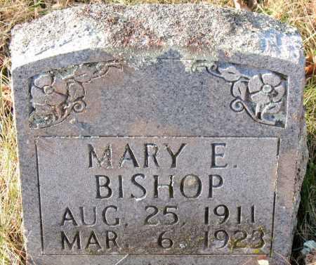 BISHOP, MARY E. - Carroll County, Arkansas   MARY E. BISHOP - Arkansas Gravestone Photos