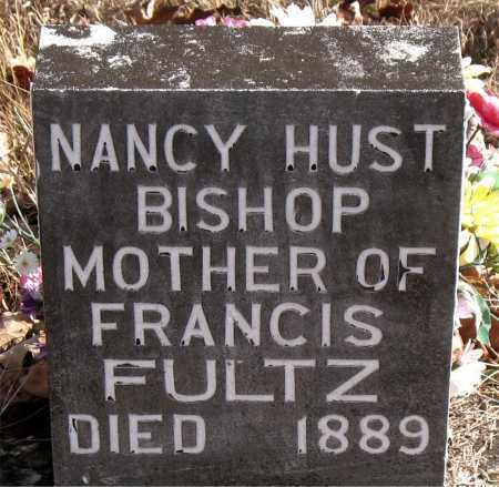 BISHOP, NANCY HUST - Carroll County, Arkansas   NANCY HUST BISHOP - Arkansas Gravestone Photos