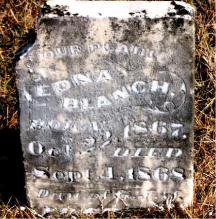 BLANCH, EDNA - Carroll County, Arkansas | EDNA BLANCH - Arkansas Gravestone Photos