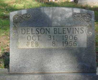 BLEVINS, DELSON - Carroll County, Arkansas | DELSON BLEVINS - Arkansas Gravestone Photos