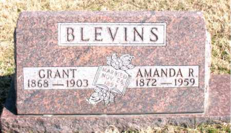 BLEVINS, AMANDA R - Carroll County, Arkansas | AMANDA R BLEVINS - Arkansas Gravestone Photos