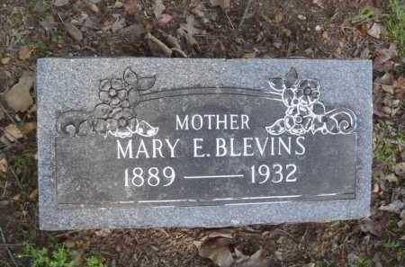 BLEVINS, MARY E. - Carroll County, Arkansas | MARY E. BLEVINS - Arkansas Gravestone Photos