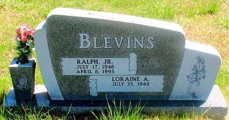 BLEVINS, RALPH JR. - Carroll County, Arkansas | RALPH JR. BLEVINS - Arkansas Gravestone Photos