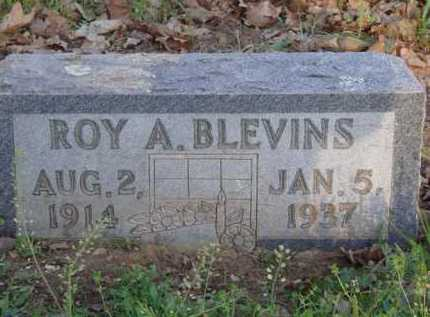 BLEVINS, ROY A. - Carroll County, Arkansas | ROY A. BLEVINS - Arkansas Gravestone Photos