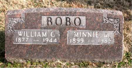 BOBO, WILLIAM C - Carroll County, Arkansas   WILLIAM C BOBO - Arkansas Gravestone Photos