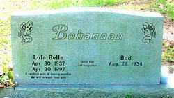 BOHANNAN, LULA BELLE - Carroll County, Arkansas | LULA BELLE BOHANNAN - Arkansas Gravestone Photos