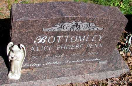 BOTTOMLEY, ALICE PHOBE - Carroll County, Arkansas | ALICE PHOBE BOTTOMLEY - Arkansas Gravestone Photos