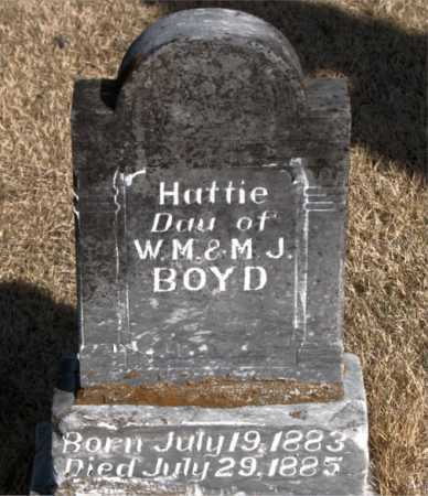 BOYD, HATTIE - Carroll County, Arkansas | HATTIE BOYD - Arkansas Gravestone Photos