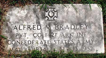 BRADLEY (VETERAN CSA), ALFRED M - Carroll County, Arkansas   ALFRED M BRADLEY (VETERAN CSA) - Arkansas Gravestone Photos